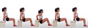 dips workout without weights