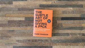 subtle art of not giving a fuck self help books